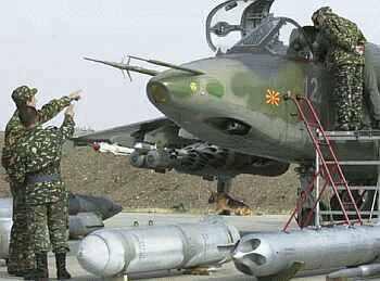 Mazedonien Suchoi Su-25