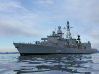 Die Ständigen NATO-Einsatzverbände - Die Fregatte Lübeck in See.