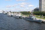Open Spirit 2008 - Minensucher im Hafen von Riga
