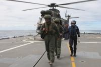 Hubschrauber der Südafrikanischen Navy vom Typ ORYX