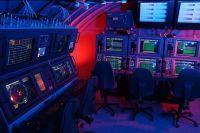 Archivbild: Die Operationszentrale eines Ubootes als Übungsanlage am