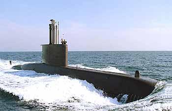 Marineforum - südkoreanisches U-Boot der CHANG BOGO-Klasse (Foto: ROK Navy)