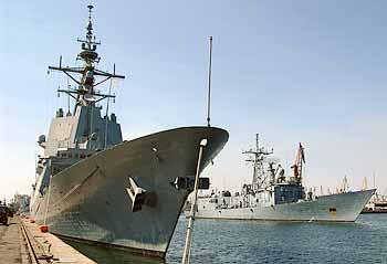 Marineforum - NATO-Fregatten besuchen Konstanta (Foto: rum. Marine)