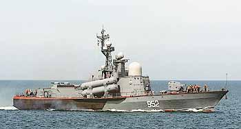 Marineforum - FK-Korvette TARANTUL der russischen Schwarzmeerflotte (Foto: Flot Sevastopol)