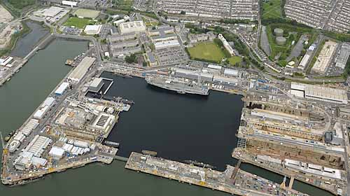 Marineforum - Naval Base Devonport (Photo: Royal Navy)