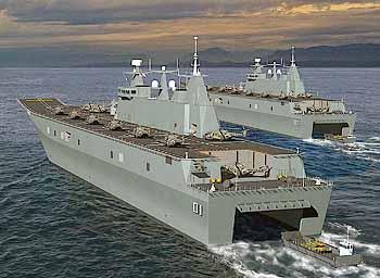 Marineforum - Hubschrauberträger (LHD) der CANBERRA-Klasse