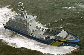 Marineforum - so soll KBV-21 aussehen (Grafik: schwed. Küstenwache)