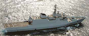 Marineforum - italienische COMMANDANT BORSINI nahm an El Med 08 teil (Foto: ital. Marine)