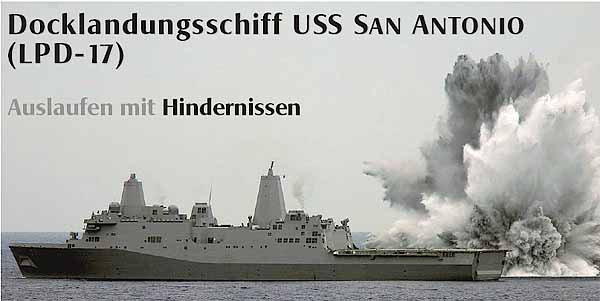 Marineforum - Minenansprengung soll Schockfestigkeit testen (Foto: US-Navy)
