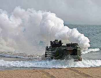 Marineforum - Anlandung bei KITP (Foto: US-Navy)