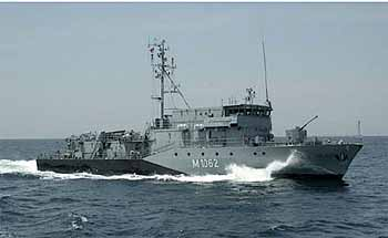 Marineforum - Minenjagdboot Klasse 332 (Foto: FlottenKdo)
