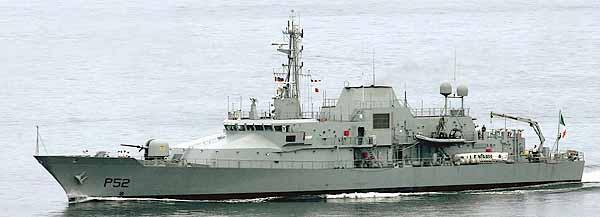 Irisches Fischereischutzschiff NIAMH (Foto: Michael Nitz)