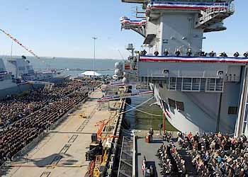 Indienststellungsfeier (Foto: US Navy)