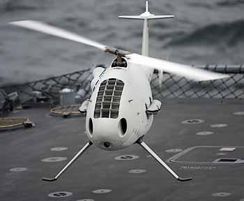 Marineforum - CAMCOPTER im Flug
