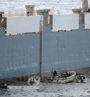 Marineforum - Piraten gelangen oft problemlos an Bord (Foto: US Navy)