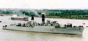 Marineforum - Bangladesch-Fregatte ABU BAKAR (Foto: Bang. Navy)