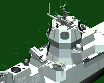 Marineforum - NSM auf NANSEN-Fregatten (Grafik: Kongsberg)