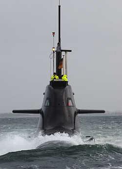 Marineforum - U-Boot der Klasse 212A (Foto: HDW)