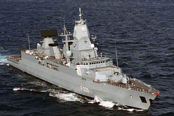 Marineforum - Fregatte Klasse 124 HESSEN (Foto: FlottenKdo)