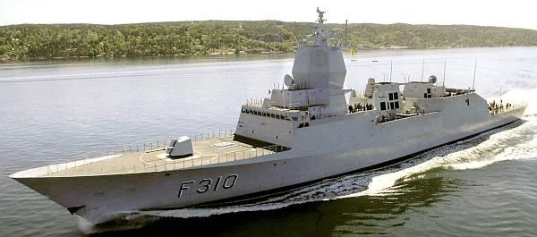 Marineforum - norwegische FRITJOF NANSEN (Foto: RNoN)