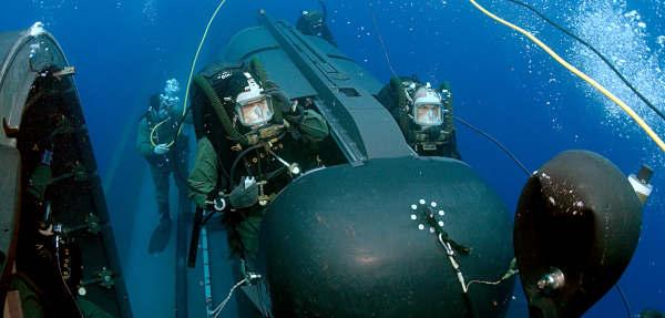 Marineforum - SDV (Foto: US Navy)