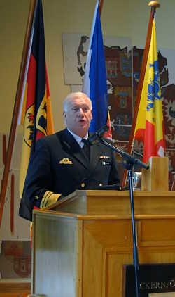 Marineforum - VAdm Stricker, Befehlshaber der Flotte
