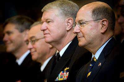 Marineforum - Adm Roughead und Marineminister Ray Mabus