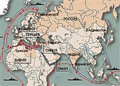 Marineforum - Karte: severnyflot.ru