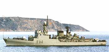 spanische Fregatte INFANTA CRISTINA