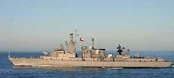Marineforum Fregatte ALMIRANTE LATORRE