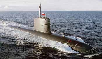 Marineforum - (chilenisches( U-Boot der SCORPENE-Klasse (Foto: DCNS)