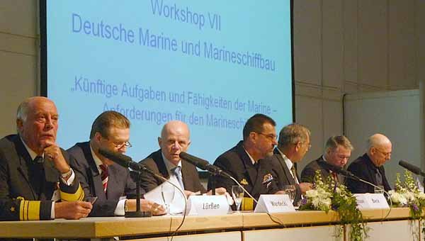 6. Nationale Maritime Konferenz 2009 in Rostock