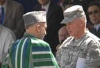 General McKiernan assumes command of ISAF