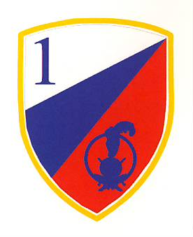 Slowenische Streitkräfte - Wappen 1st SAF Brigade - Slovenian Armed Forces - Crest - 1st SAF Brigade