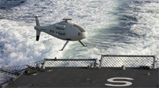 Schiebel's unmanned aerial system Camcopter S-100