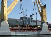 GlobalDefence - Die Bergen, ein 28 Meter langes ehemaliges Wachboot der deutschen Marine