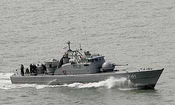 Marineforum - lettisches Boot der STORM-Klasse (Foto: Michael Nitz)