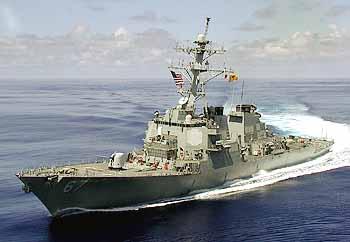 Marineforum - COLE soll vor die libanesische Küste (Foto: US-Navy)
