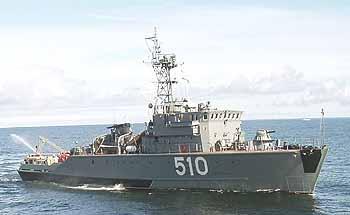 Marineforum russisches Minenjagdboot SONYA ebenfalls bei Open Spirit (Foto: FlottenKdo)