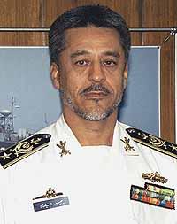 Marineforum Admiral Sayyari (Foto: IRNA)