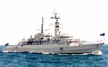 Marineforum pakistanische Fregatte BABUR (Foto: Michael Nitz)