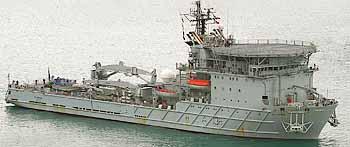 Marineforum - britisches Werkstattschiff DILIGENCE (Foto: Royal Navy)