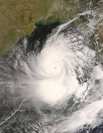 Marineforum - Zyklon Nargis auf dem Weg nach Myanmar (Foto: NASA)