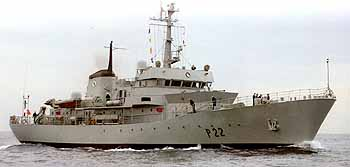 Marineforum AIOFE: am Bosporus war Schluss (Foto: Irish Naval Service)