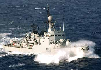 marokkanische Fregatte ARRAHMANI (Foto: US-Navy)