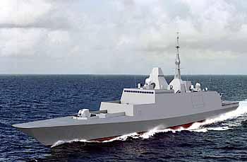 Marineforum - FREMM (Grafik: DCNS)