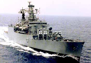 Marineforum indische Fregatte BEAS (Foto: ind. Marine)