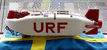 Marineforum URF (Modell/Foto: schwed. Marine)