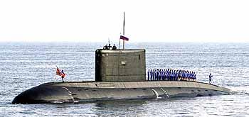 Marineforum russisches U-Boot der KILO-Klasse (Foto: Michael Nitz)