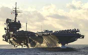 Marineforum - KITTY HAWK in Hongkong nicht willkommen (Foto: austral. Marine)